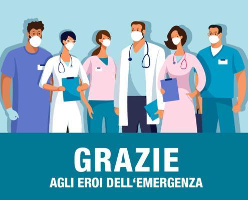 Offerta dedicata a personale sanitario, forze dell'ordine, CRI, Protezione Civile